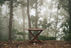Simple Wood Bench